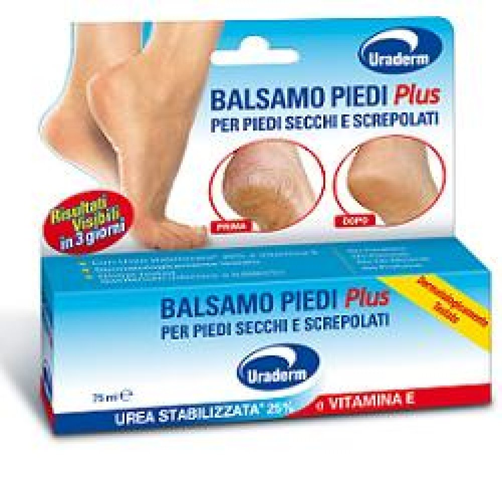 Planet Pharma Balsamo Plus per Piedi Secchi e Screpolati - 60 ml Planet Pharma Spa 47435