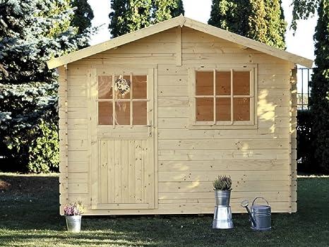 Casa Jardín Paola madera nordico gartenpro 318 x 218 x 244/195H