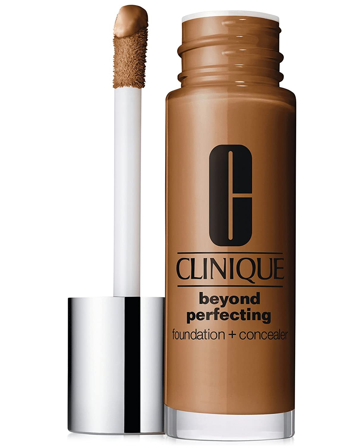New! Clinique Beyond Perfecting Foundation + Concealer, 1 oz / 30 ml, 26 Amber (D-G)