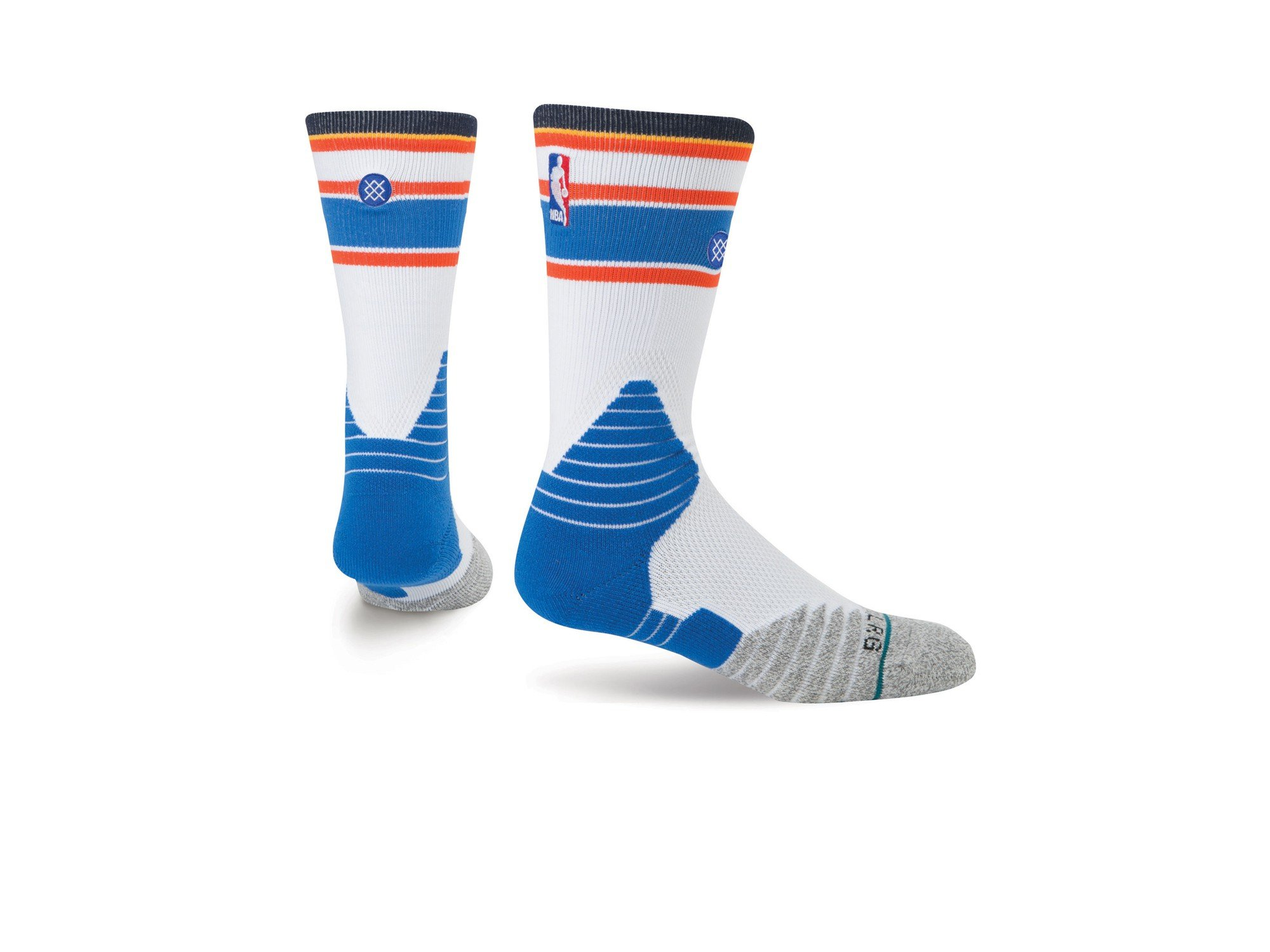 Stance NBA OKC Thunder Core Crew Sock size 9-12 by Stance