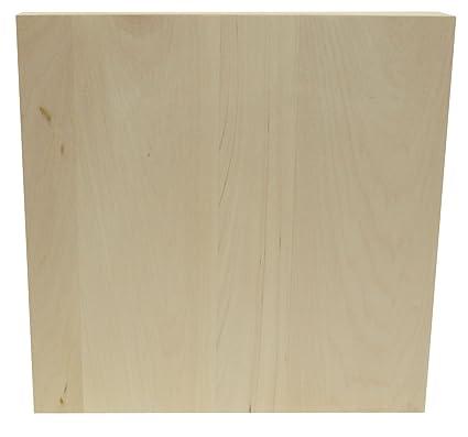 Walnut Hollow-Blocco di legno di tiglio americano in legno, 30 x 30 ...