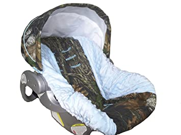 Infant Car Seat Cover Baby Slip Camo With Light
