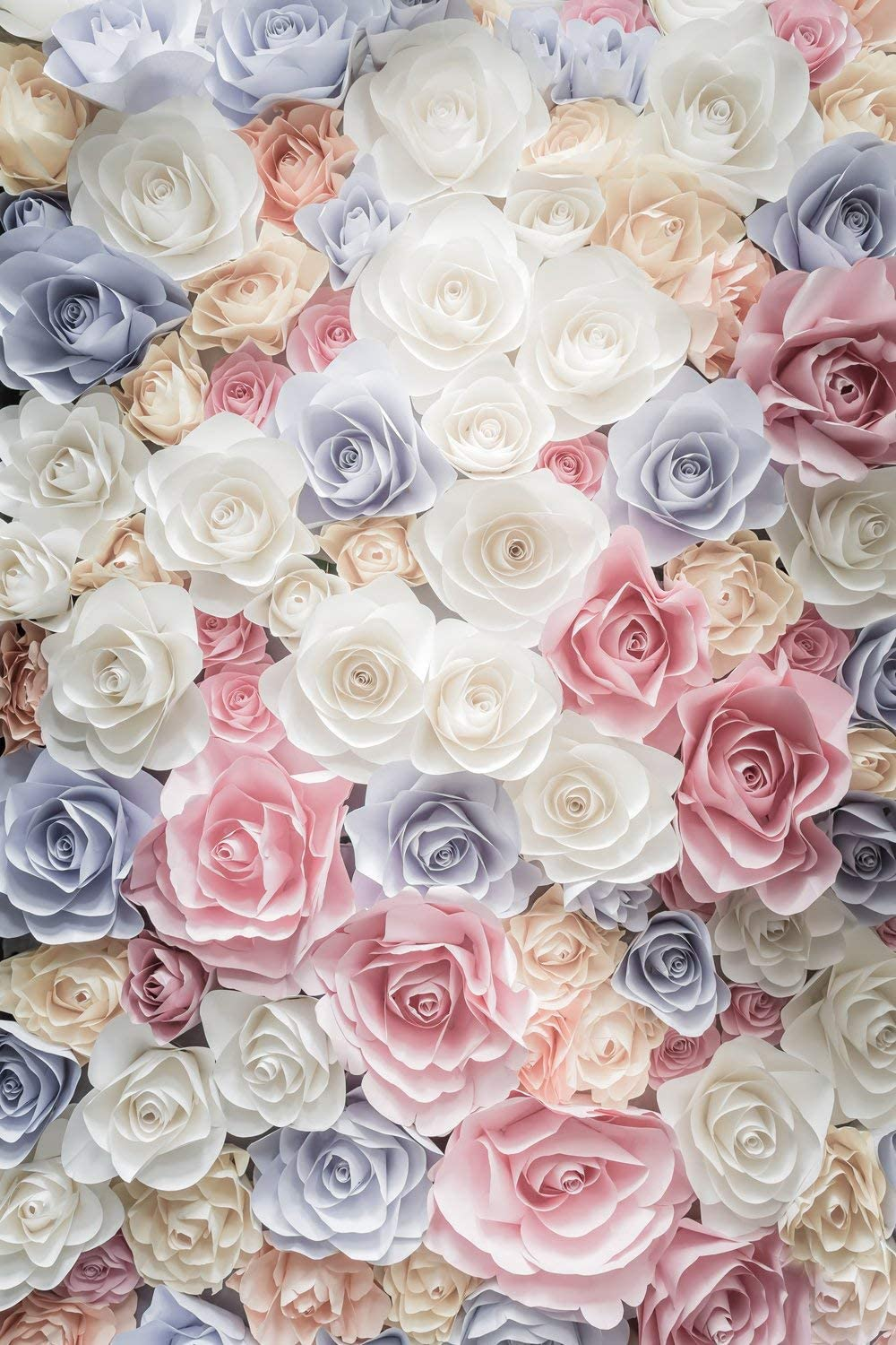 CdHBH 6x9ft Valentines Day background pink white flower wall childrens birthday photo background cloth festival venue party layout photo studio photo photography background wallpaper home decoration