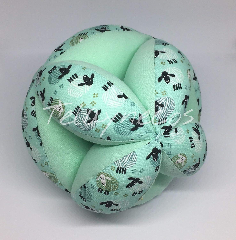 Pelota Montessori ovejas verde 20cm: Amazon.es: Handmade
