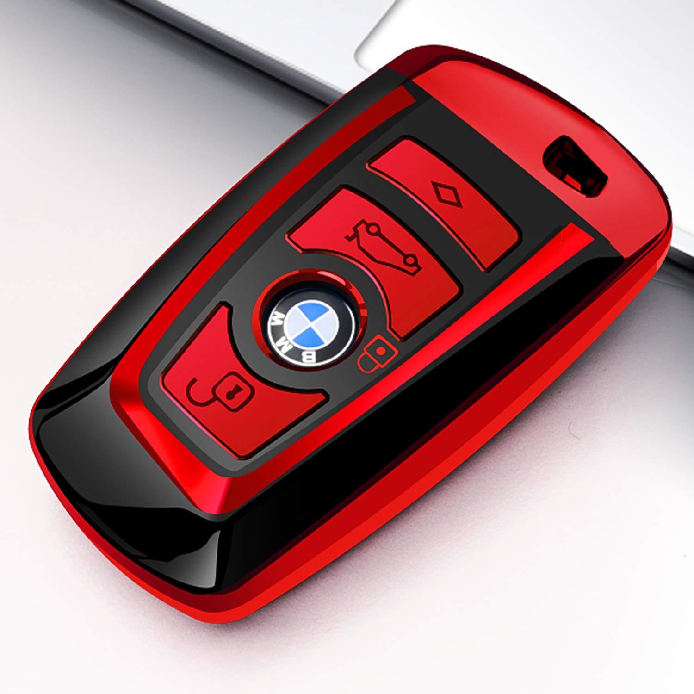 Intermerge BMW Keychain Keyring, Zinc Alloy Material Car Logo Keychain BMW Key Fob