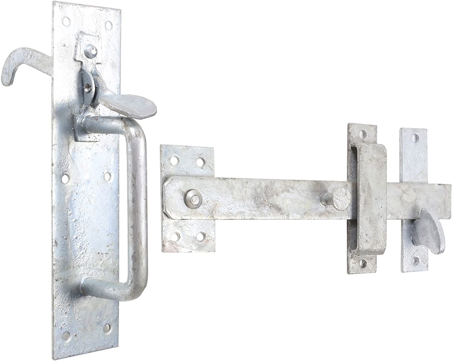 Garden Suffolk Thumb Latch//Catch HEAVY DUTY Galv Gate//Shed Door Handle Cottage