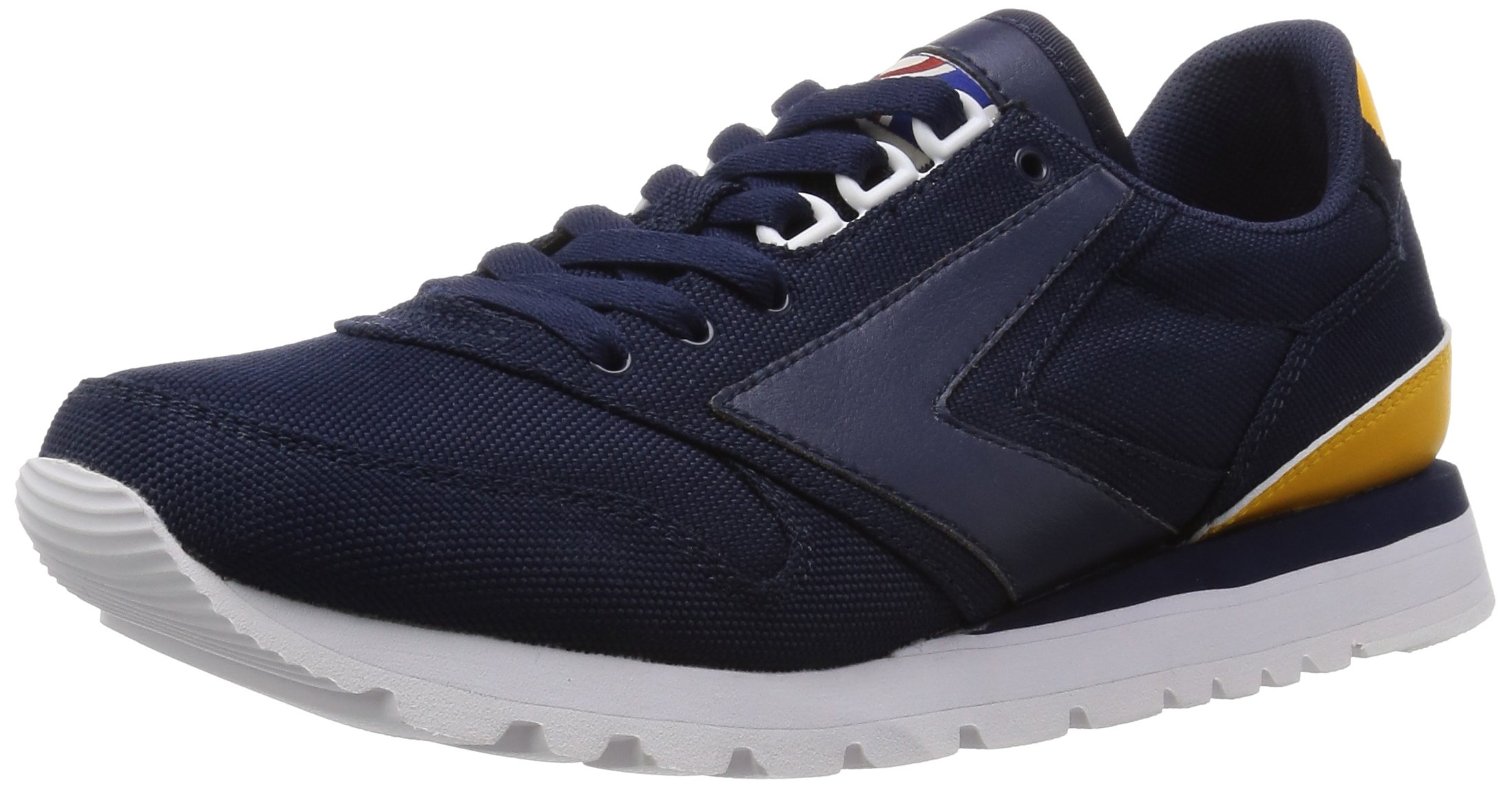 Brooks Heritage  Men's Chariot Peacoat Navy/Gold Fusion/White 8.5 D US