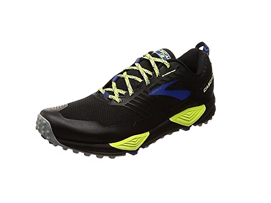 mens brooks cascadia 13 gore-tex trail running shoes