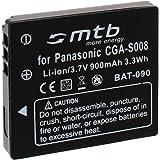 Batterie BCE10E/CGA-S008 pour Panasonic Lumix DMC-FS3, FS5, FS20, FX30... + voir liste!