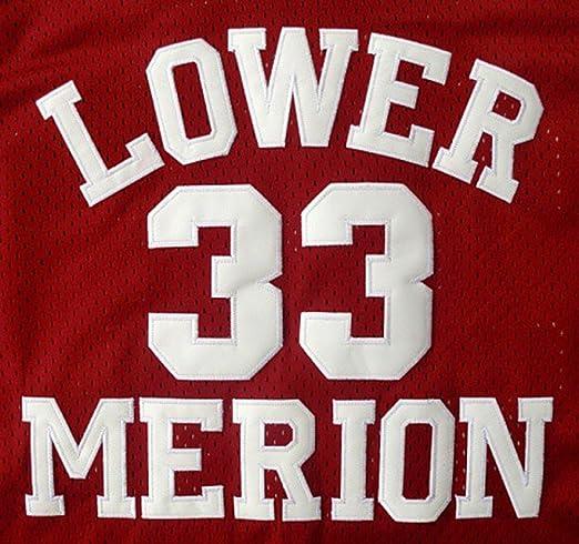Amazon.com  beolous Jersey  33 Kobe High School Retro Basketball Jersey Red   Clothing cbcd010dc