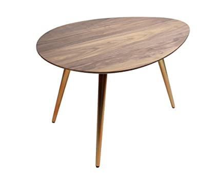 Amazoncom Edloe Finch Small Coffee Table Mid Century Modern - Small mid century modern coffee table