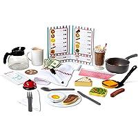 Melissa & Doug Star Diner Restaurant Play Set House (41 Piece)