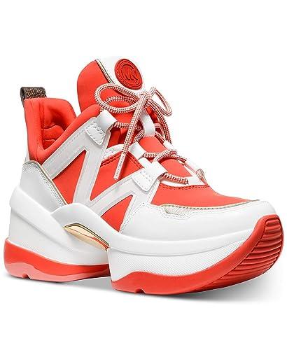 01f839b0d3d Amazon.com | Michael Kors MK Women's Olympia Trainer Scuba Dad ...