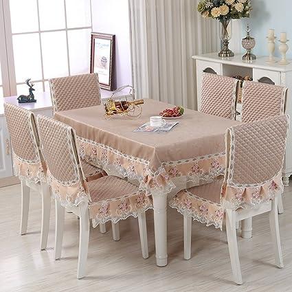 Fine Amazon Com Wan San Qian European Style Table Cloth Chair Pabps2019 Chair Design Images Pabps2019Com
