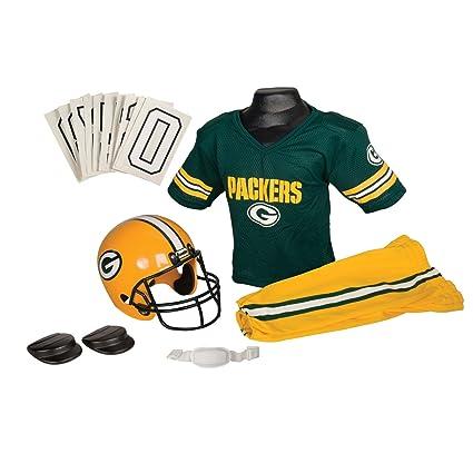 Amazon.com   Franklin Sports NFL Deluxe Team Uniform Set - Green Bay ... 9015368a0