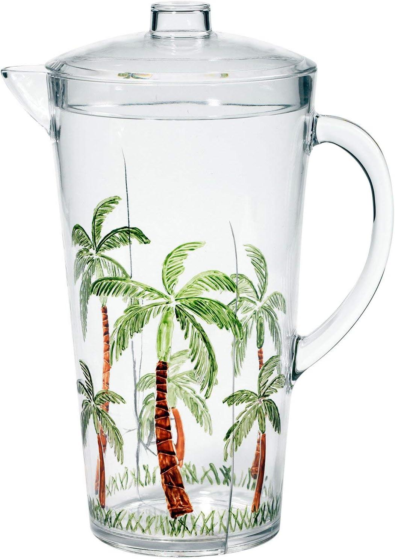 Merritt Palm Breeze Acrylic Pitcher 2qt