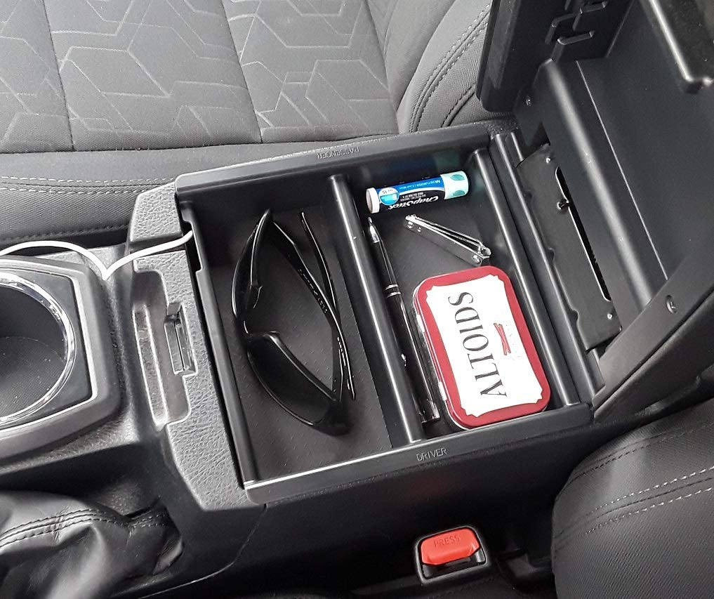 Vehicle OCD 2016-2020 - Made in USA Center Console Divider and Tray Organizer for Toyota Tacoma