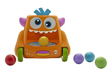 c7df4741c Fisher-Price FHD56 Zoom-N-Crawl Monster Activity, Baby Ball Activity Push