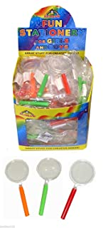 12 x Mini Magnifying Glasses - Party Bag Fillers by Playwrite