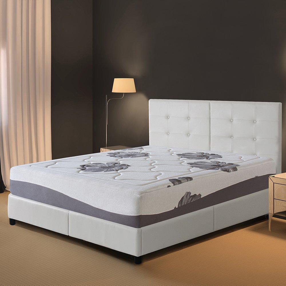 Olee Sleep 12 Inch I Gel Top Tencel Memory Foam Mattress 12FM01K by Olee Sleep (Image #1)