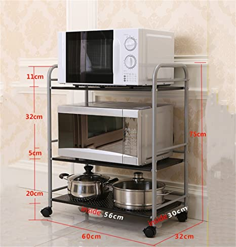 Muebles de cocina Estantes de cocina de acero inoxidable ...