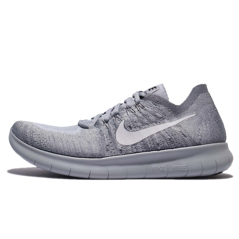 Rn Flyknit 2017 Running Shoe (Wolf Grey