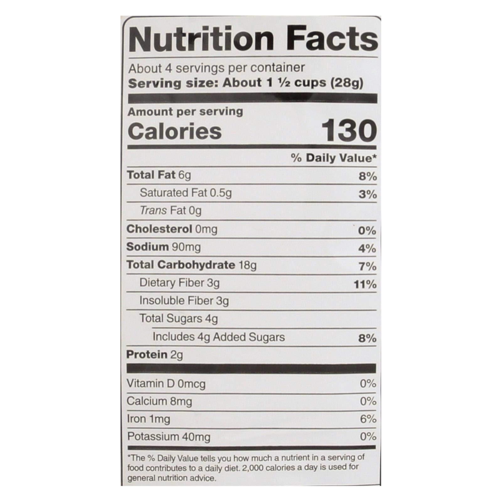 SKINNYPOP POPCORN, PCORN, PUFFS, SWT CINNAMON, Pack of 12, Size 4.2 OZ - No Artificial Ingredients Gluten Free GMO Free Kosher Contains Refined Sugar Vegan by Skinnypop Popcorn (Image #2)