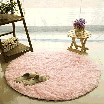 Teppich CAMAL Runde Seide Wolle Material Yoga Fr Wohnzimmer Schlafzimmer Und Bad 160cm