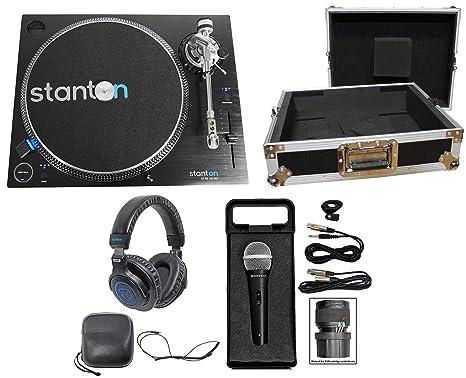 Stanton DJ STR8.150 M2 Turntable w/high-torque straight-arm ...