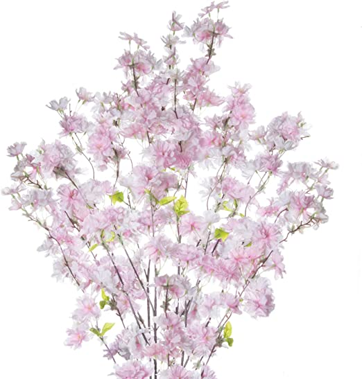 5 SMALL SPRAYS OF REAL PRESSED CHERRY BLOSSOM IDEAL 4 CARD MAKING /& FLORAL CRAFT