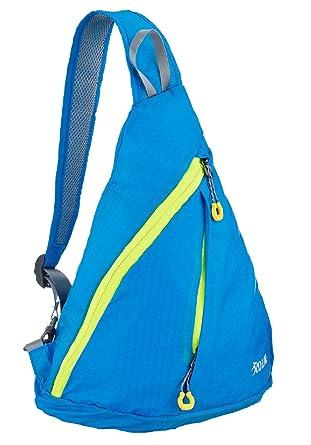 Amazon.com: ICOLOR Sling Shoulder Backpacks Bags Crossbody Rope ...