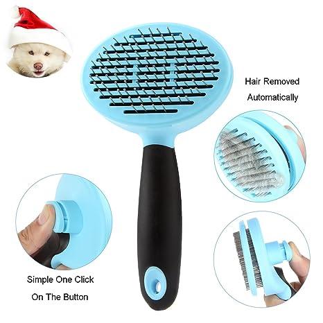 Zoes Choice Peluquería para Mascotas Peine y Cepillo para Perros y Gatos en Cabello Corto,