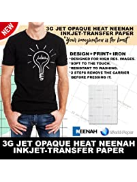 Inkjet printer paper shop amazon inkjet transfer paper for dark fabric neenah 3g jet opaque 85 malvernweather Image collections