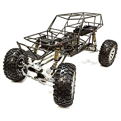 Integy RC Model Hop-ups C25798BLACK Billet Machined 1/10 VFX2.2 Roll Cage Type Trail Racer 4WD Scale Crawler ARTR