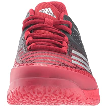 5e0f42c54c9f16 ... adidas Women s Shoes Crazyflight X Volleyball Shoe Black Metallic Silver  Power Red ...