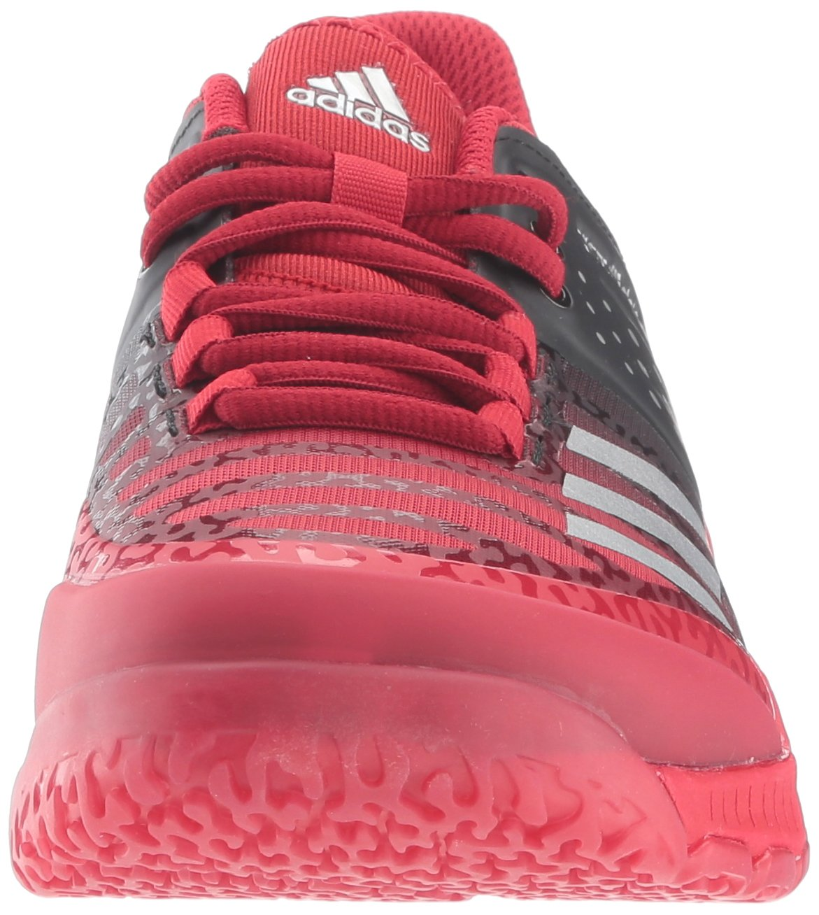 Adidas Women's Shoes Crazyflight X Volleyball Shoe Black/Metallic Silver/Power Red,7.5 by adidas Originals (Image #4)