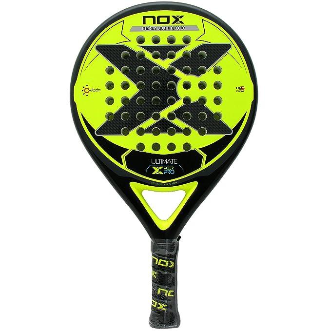 Pala pádel Nox Ultimate Fiber Pro Yellow