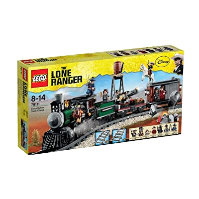 LEGO Disney The Lone Ranger Constitution Train Chase w/ Minifigures   79111: Toys & Games