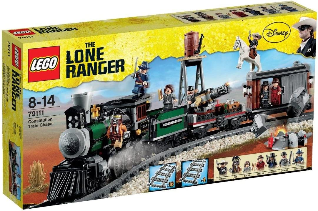 LEGO Disney The Lone Ranger Constitution Train Chase w/ Minifigures   79111