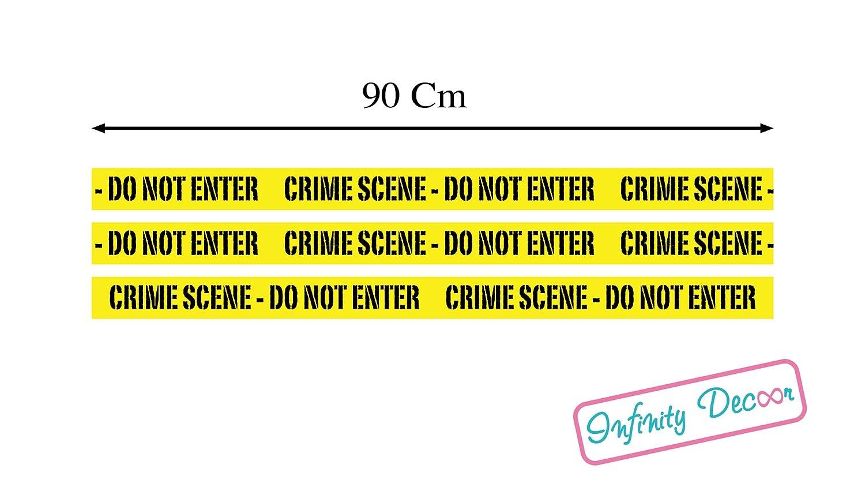 Adesivi per frigo e porte CRIME SCENE - DO NOT ENTER (3)