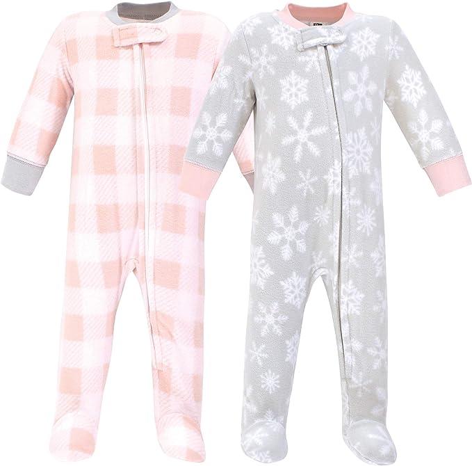 Essentials Unisex Baby 2-Pack Microfleece Sleep and Play