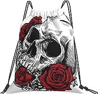 sac avec cordon serrage tête de mort 3