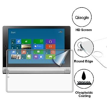 Qiaogle Premium Vidrio Templado Protector de Pantalla para Lenovo Yoga Tablet 2-10 (10 Pulgadas) / Lenovo Yoga Tablet 2-10 1050F Cristal Templado ...