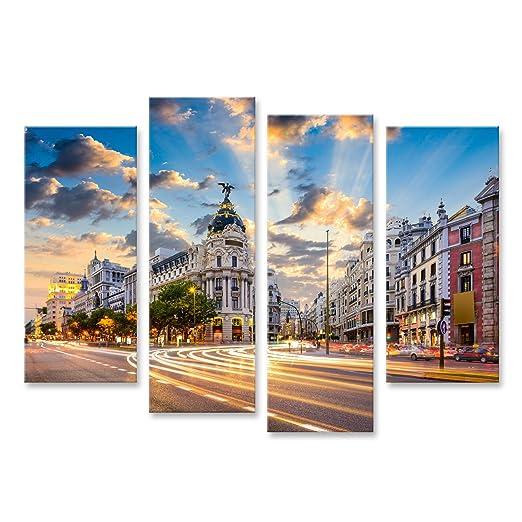islandburner, Cuadro Cuadros Madrid, Paisaje Urbano de España en ...