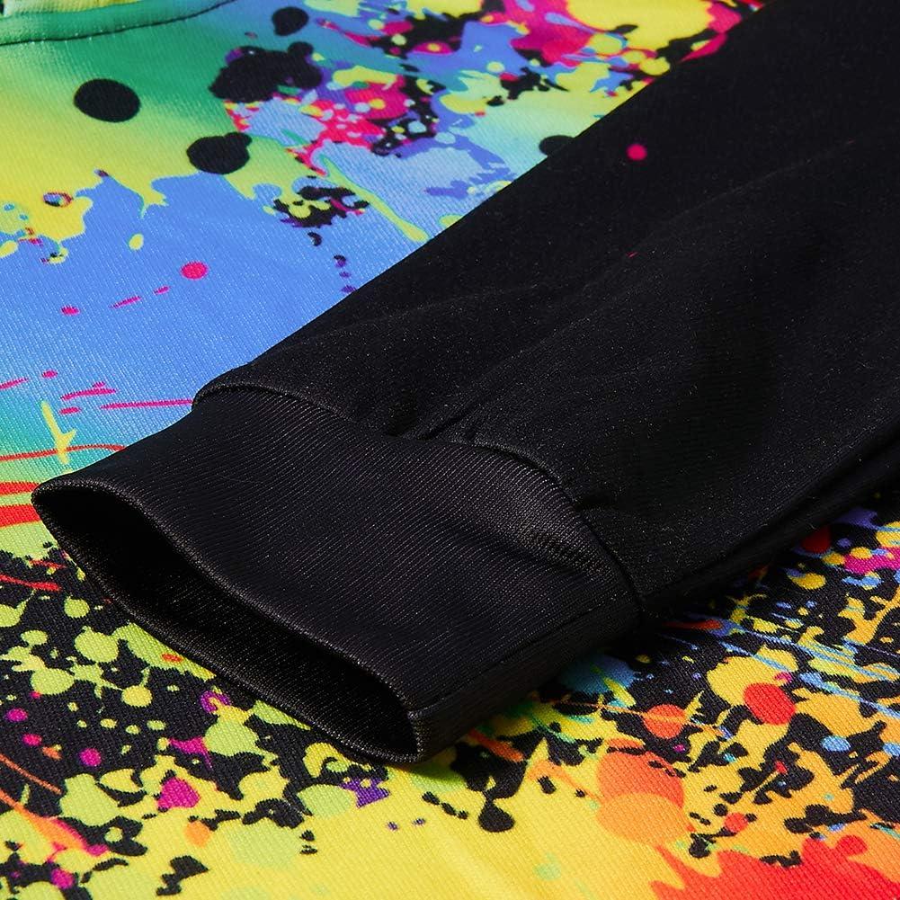 AIDEAONE Jungen M/ädchen 3D Hoodie Kapuzenpullover Sweatshirt Mit Kapuze 3-16 Jahre