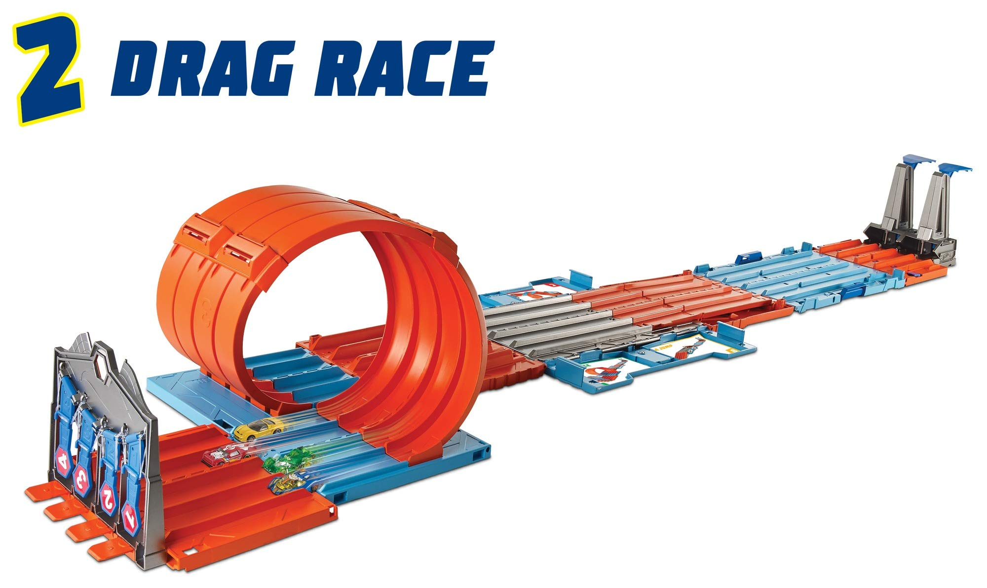 Mattel Hot Wheels Whats New Electrical Wiring Drag Race