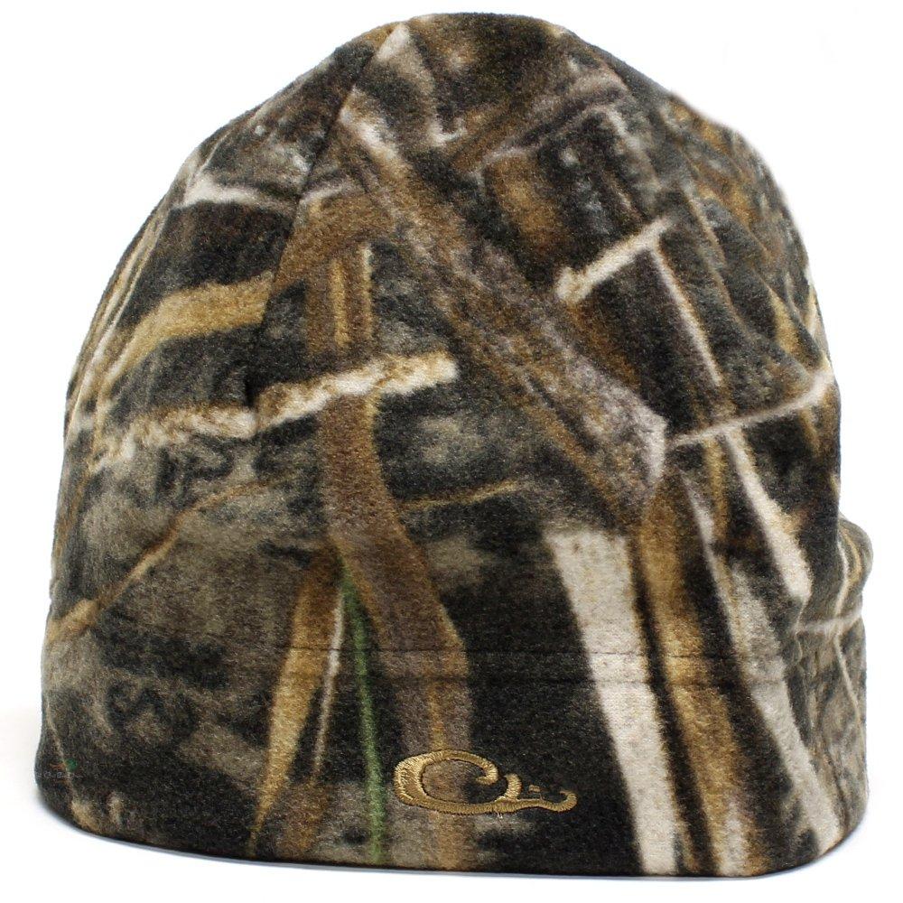 Drake Waterfowl Windproof Camo Fleece Stocking Cap - Max-5 by Drake