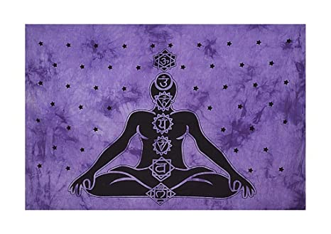 Amazon.com: Indian Yoga Mat Beach Throw Wall Decor ...