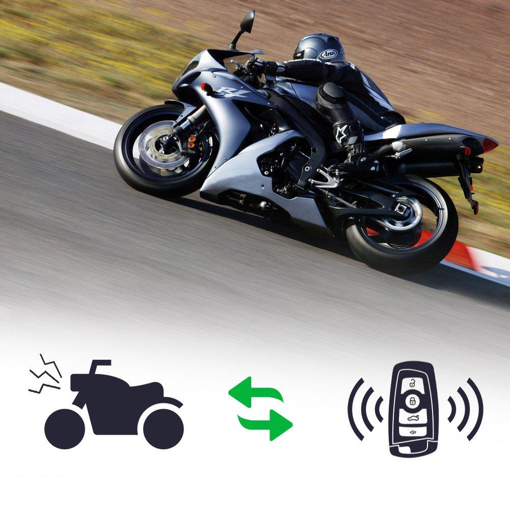 o quad con 12/Volt Rupse/ Scooter /Allarme moto con motore Start 2/telecomando per tutti i Motorino