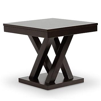 Amazon Com Baxton Studio Side Table Everdon Modern End